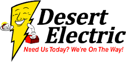 Logo, Desert Electric - Electrical Contractor